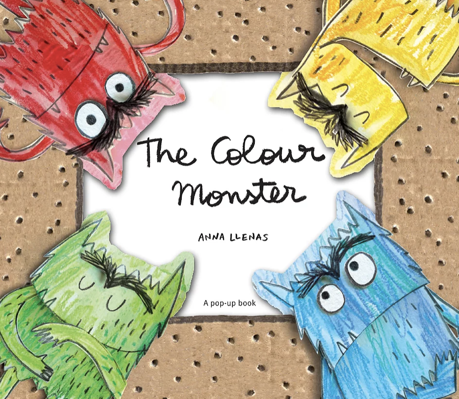 Magic Words Therapy - the front cover of a book called The Colour Monster.png