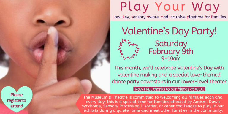 Play Your Way events offer low-key, sensory aware, and inclusive playtime for families