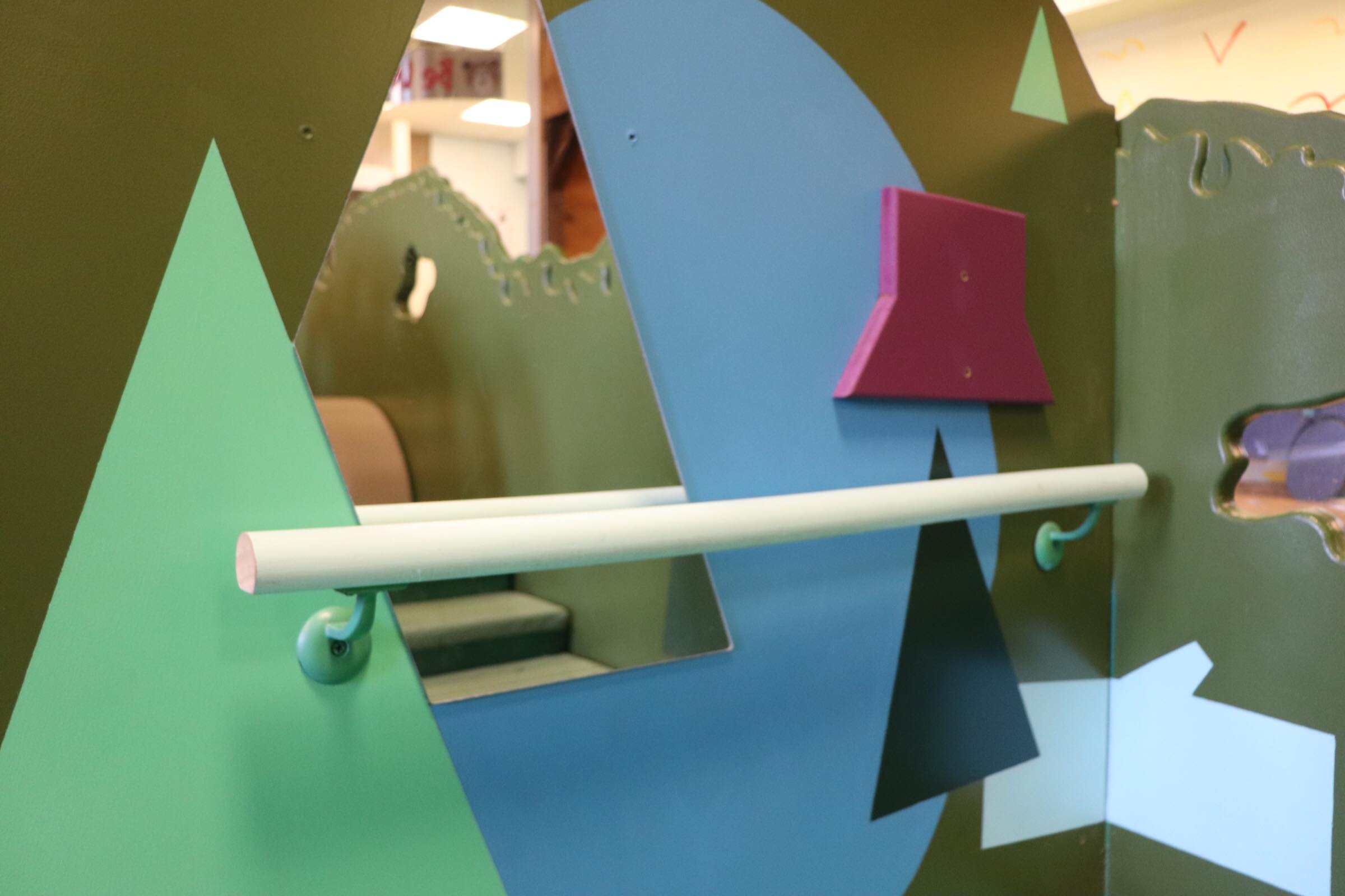 Mirrors and bar in Toddler Park (Photo By Simone Verria).jpg
