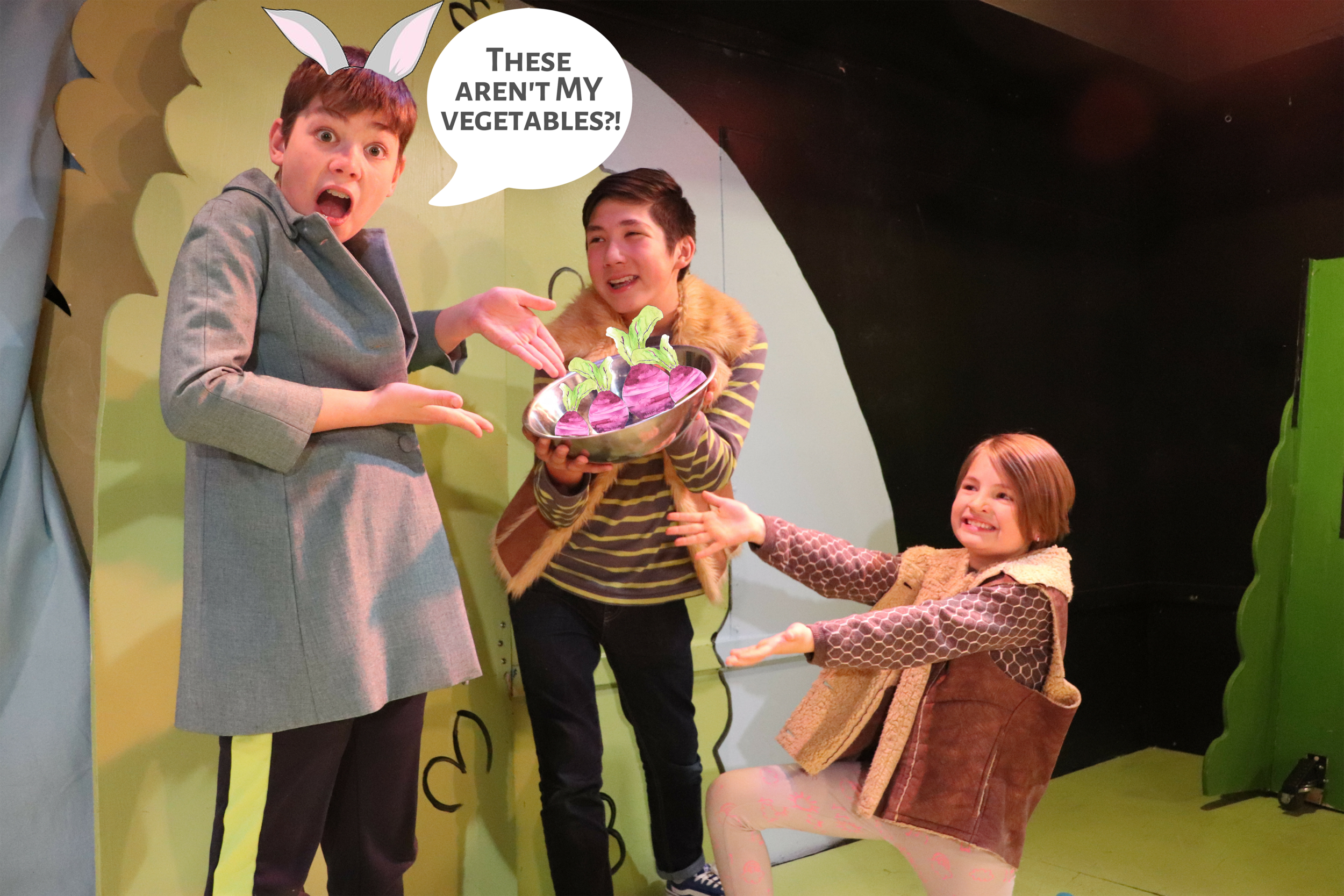 Experience a Theatre Show - Main stage performances engage and inspire groups and students through theatre for kids, by kids!