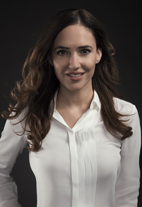 Natürlich immer eine Augenweide :-): Moderatorin Patrizia Laeri