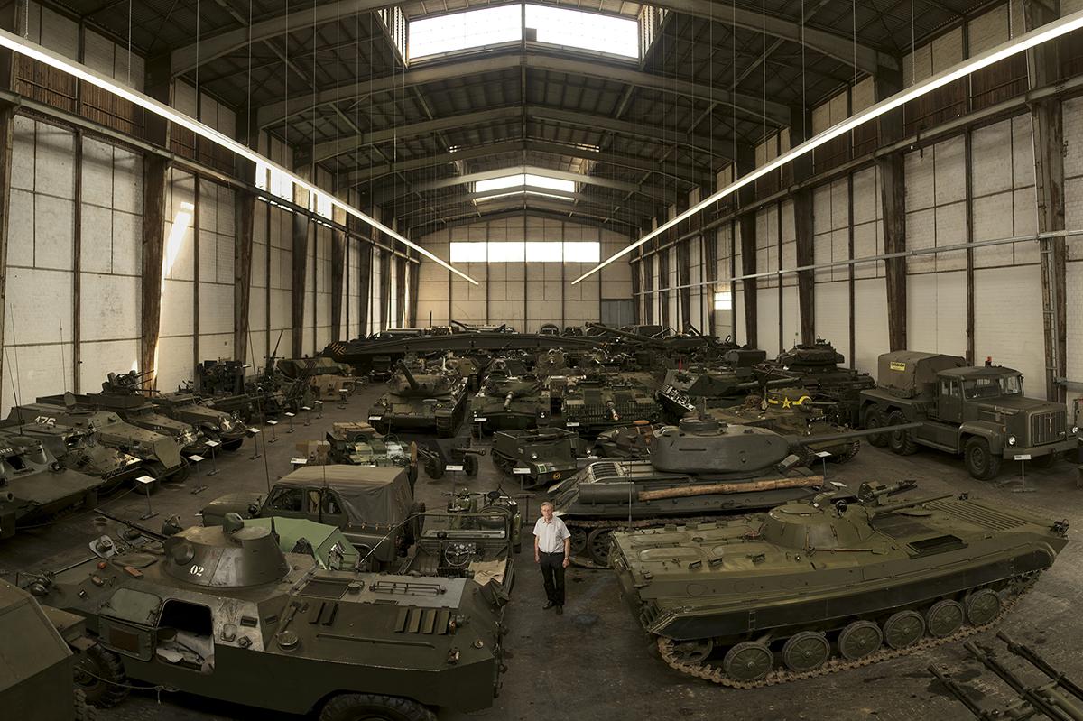 Einer der Motorheads, welcher speziell zu reden gab. Sammelt Panzer: Thomas Hug.