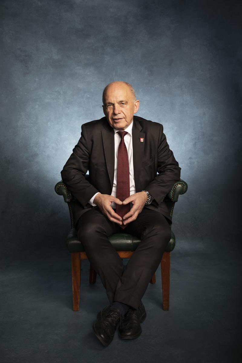 Ueli Maurer, aktueller Bundespräsident der Schweiz.