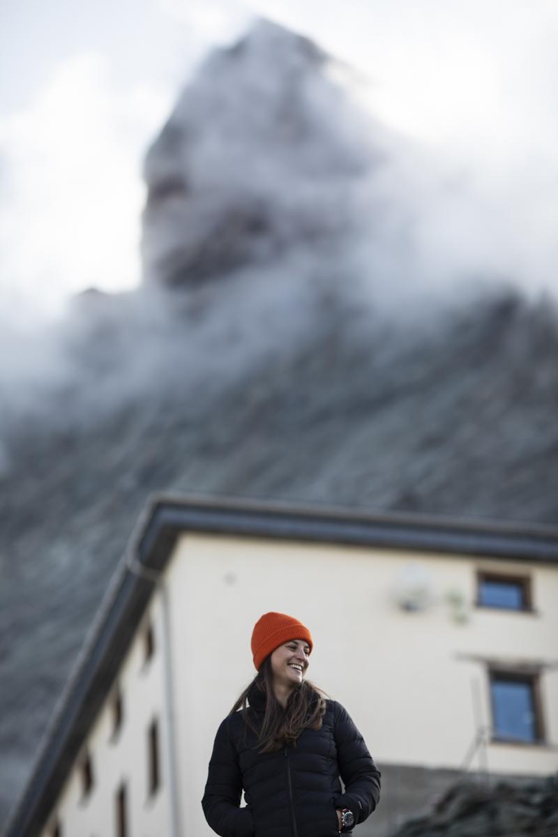 Schafft Justine den Aufstieg auf das Matterhorn?