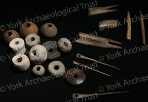 Loom weights, spindles and lucets