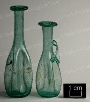 Glass Unguent Bottles group