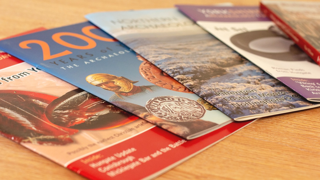 Publications - York Archaeological Trust has a long-standing record of in-house publication offering information for public interest and the wider dissemination of archaeological and historical knowledge.More information →