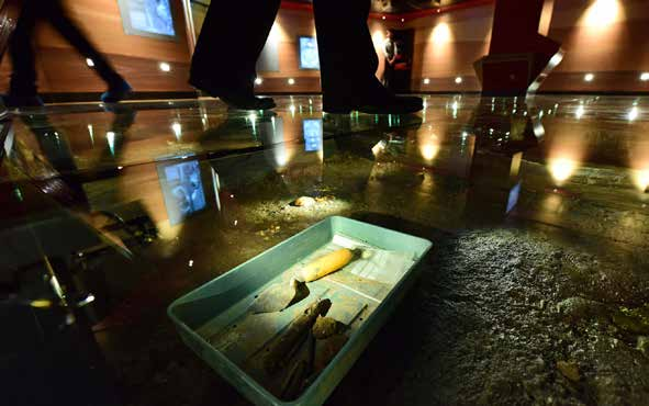 The introductory gallery focuses on the 1970's Coppergate excavations that uncovered the remarkable Viking remains presented in the centre.