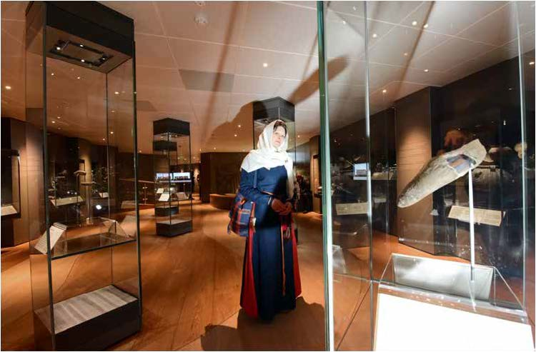 The new artefact galleries display over 800 objects including objects on-loan from the British Museum and other institutions, meaning that there is always something new to see in JORVIK.