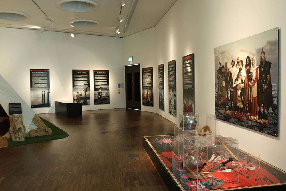 Heroes - exhibition view