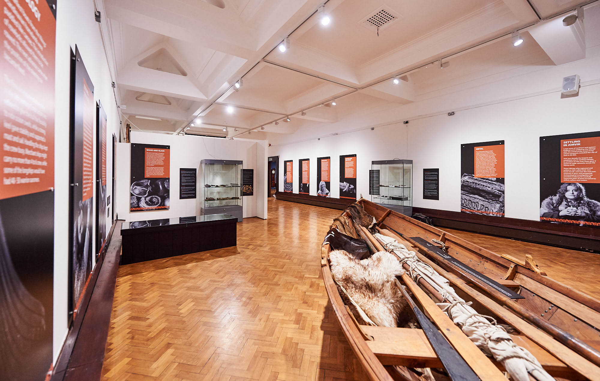 Fearsome Craftsmen - exhibition view (boat)