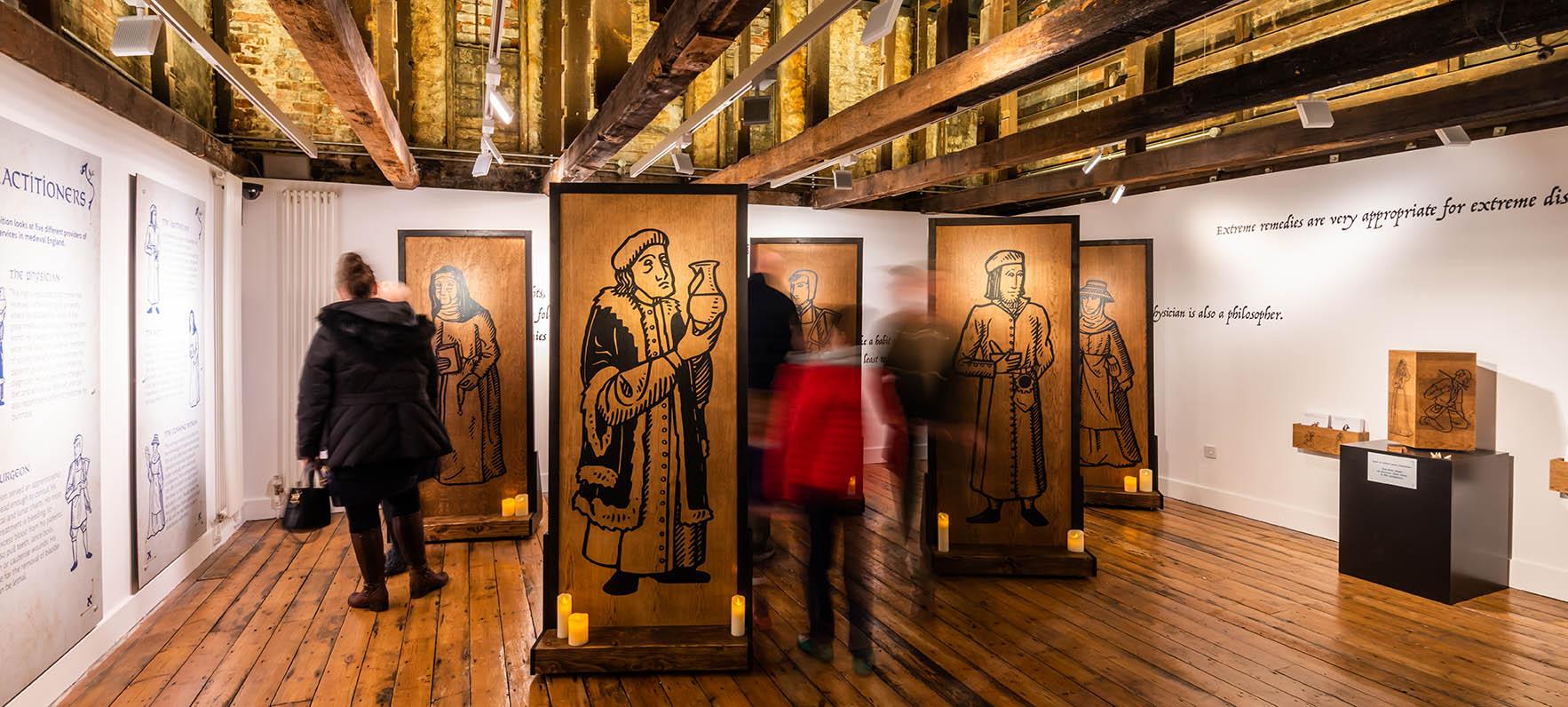 Medieval Medicine - visitors entrance area