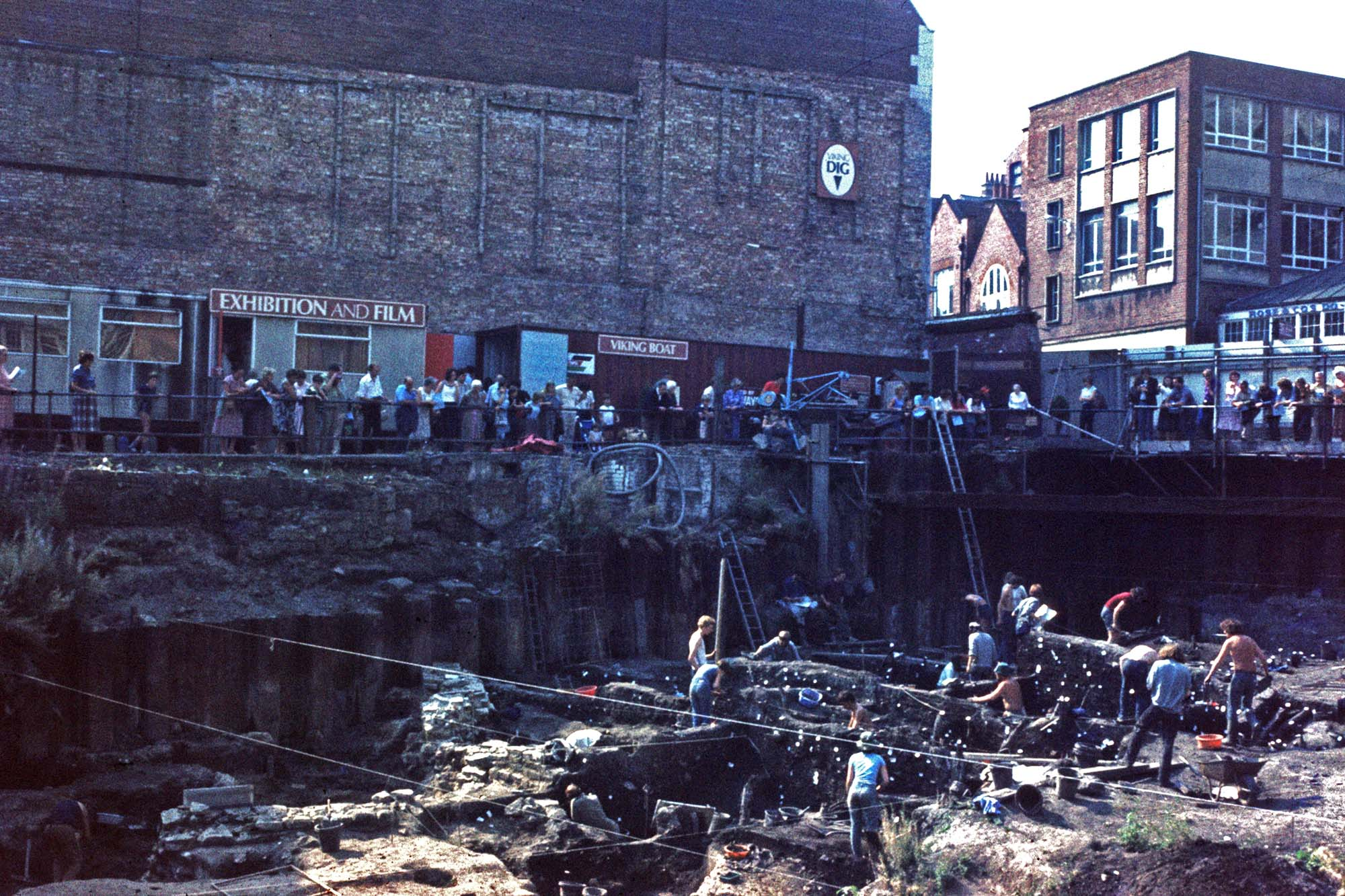 COPPERGATE EXCAVATIONS REVEAL THE VIKING CITY OF JORVIK