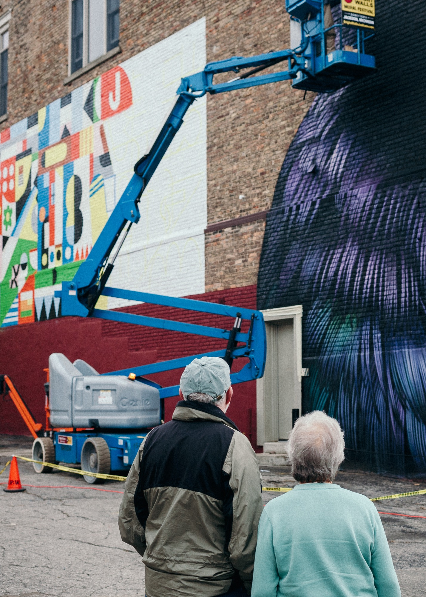 Bright Walls Mural Festival, 2018.