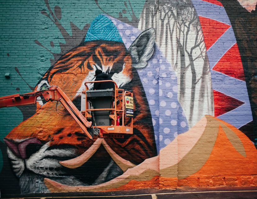 Bright Walls Mural Festival - Jackson, Michigan