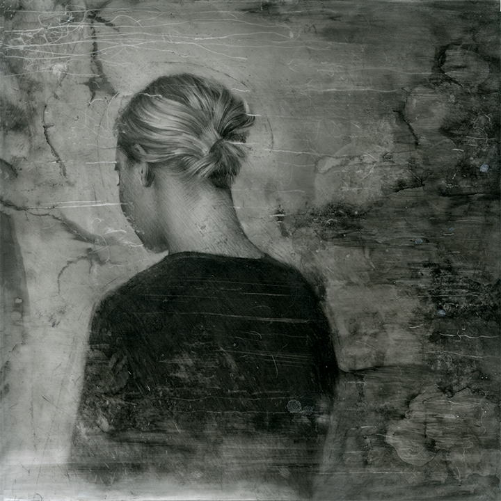 Phantom Pain  | graphite on Mylar | 10x10 inches