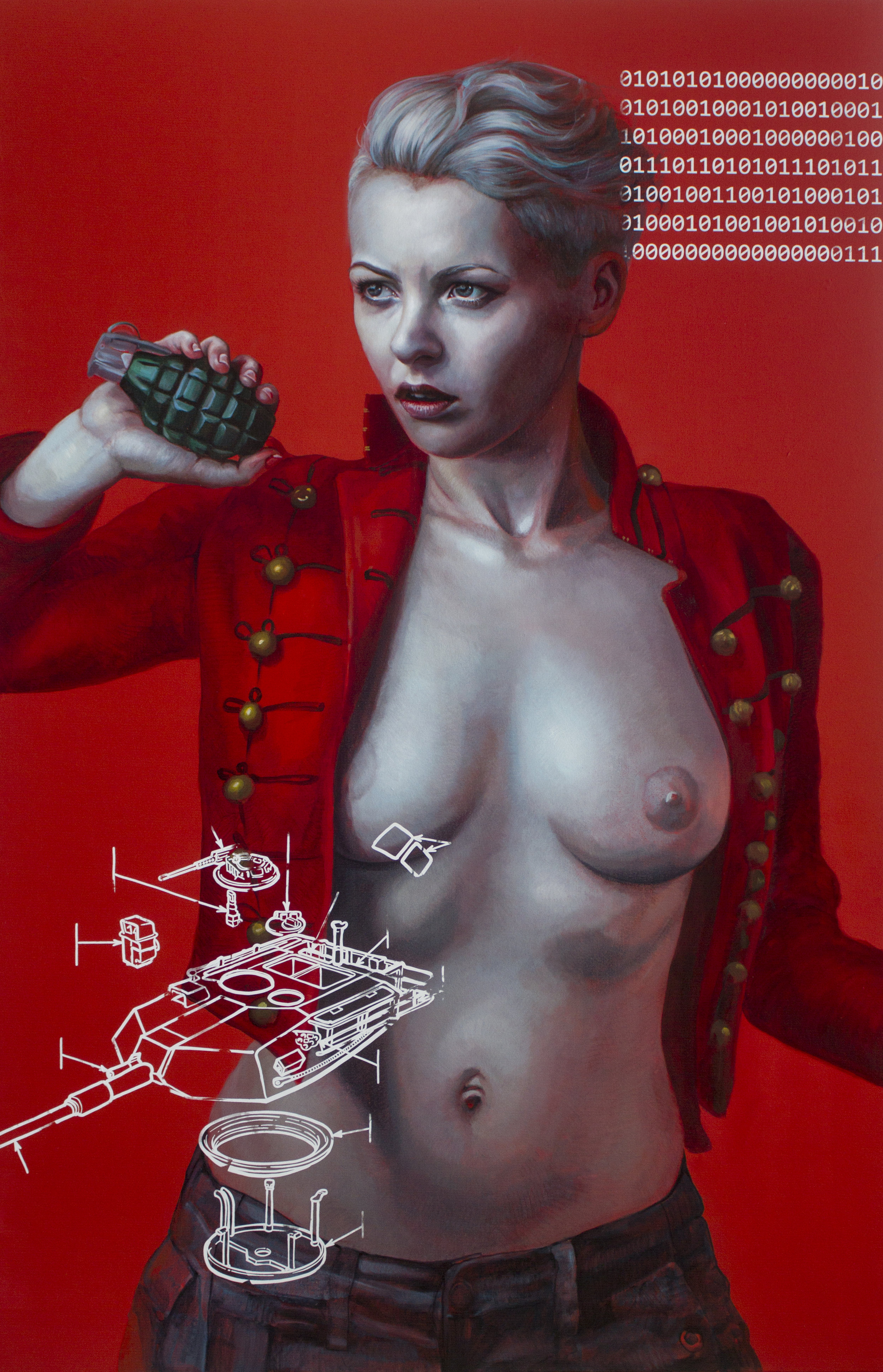 Kathrin Longhurst | Tick Tock | oil on linen