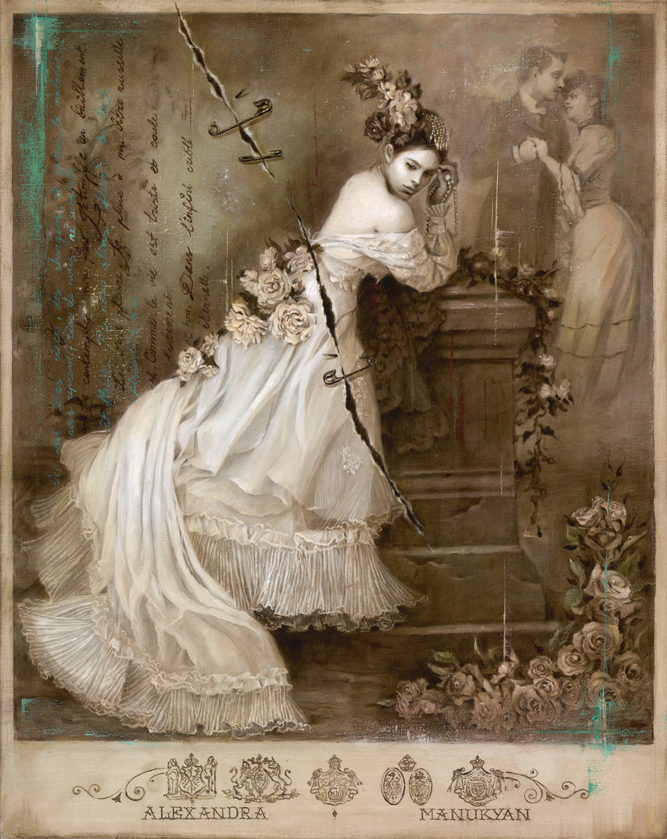 Alexandra Manukyan |  The Sweetest Lies  | oil on Belgian linen | 30x24