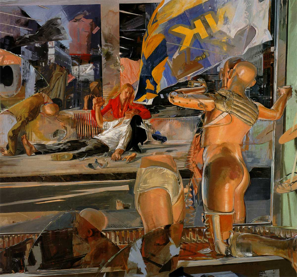 Painting by Jerome Witkin