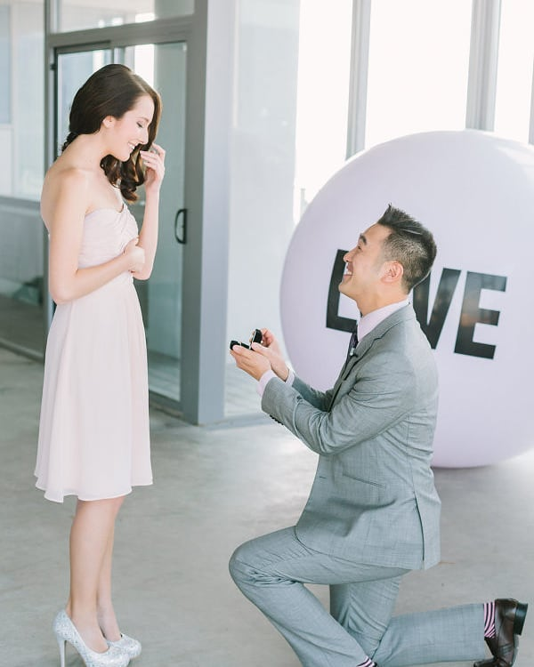 Most popular days to get engaged on the blog!! Photo: via: Kim James Photography .. #bride #engaged #proposal