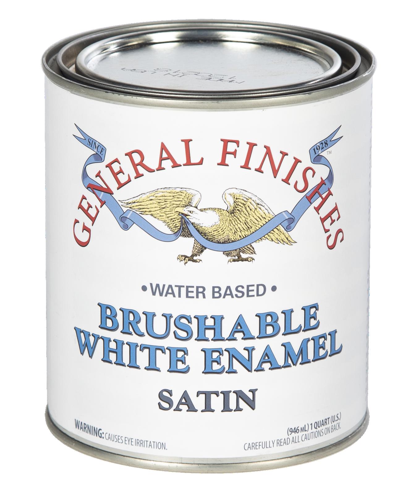 BRUSHABLE WHITE ENAMEL