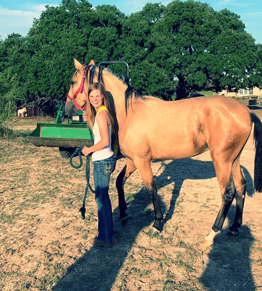 True Happiness of getting a new horse!!