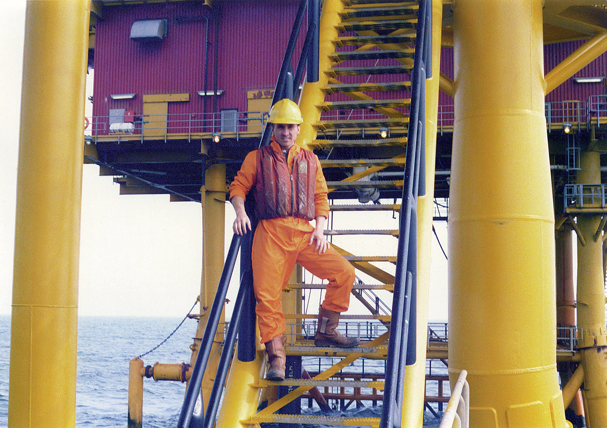 5. PM working on North Sea Oil Rigs.jpg