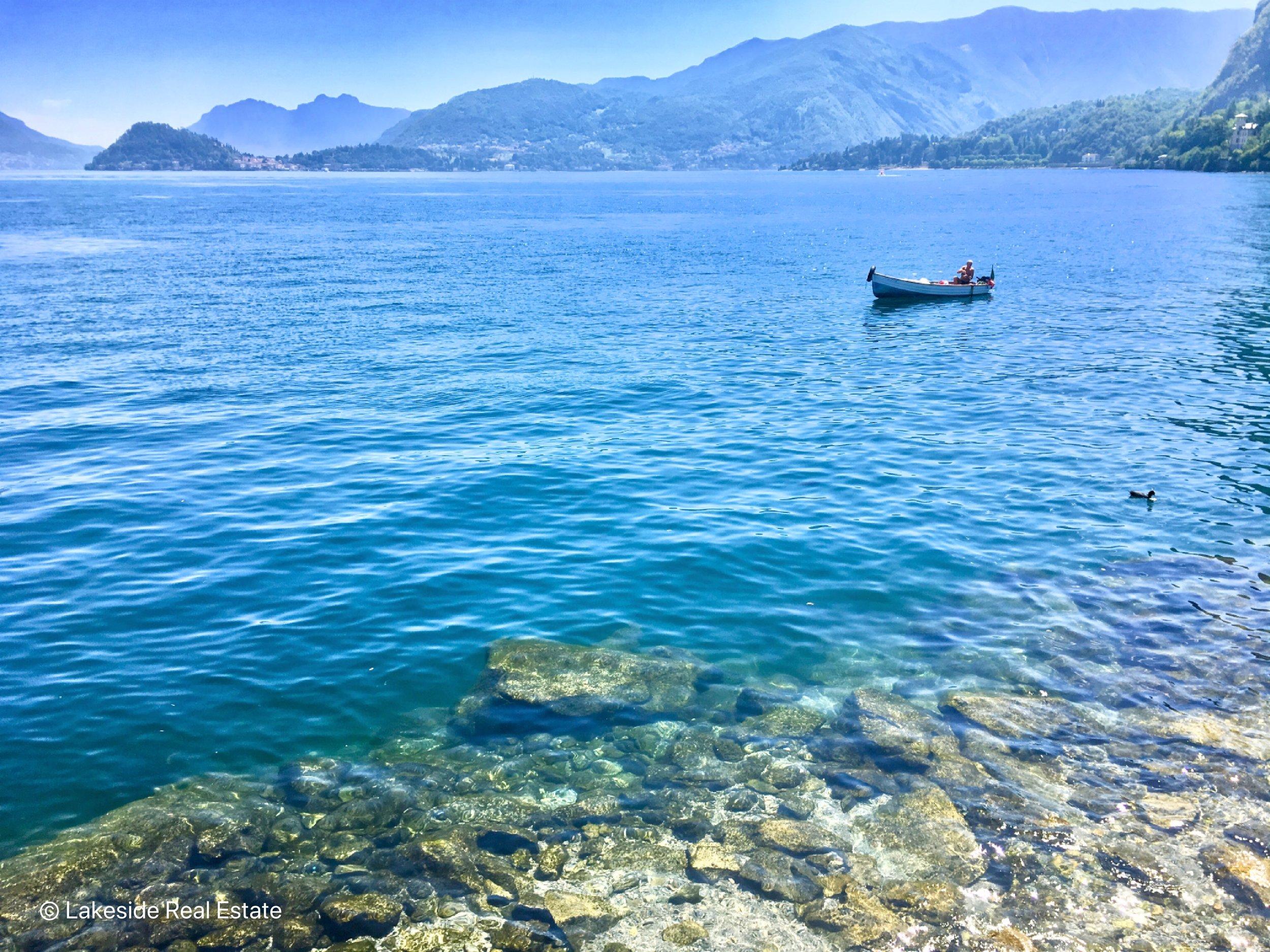 An ordinary summer day in Menaggio, Lake Como