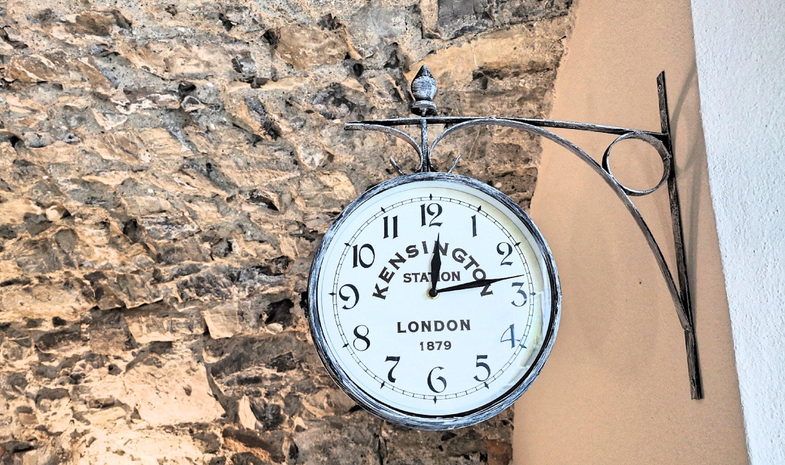 Our vintage clock
