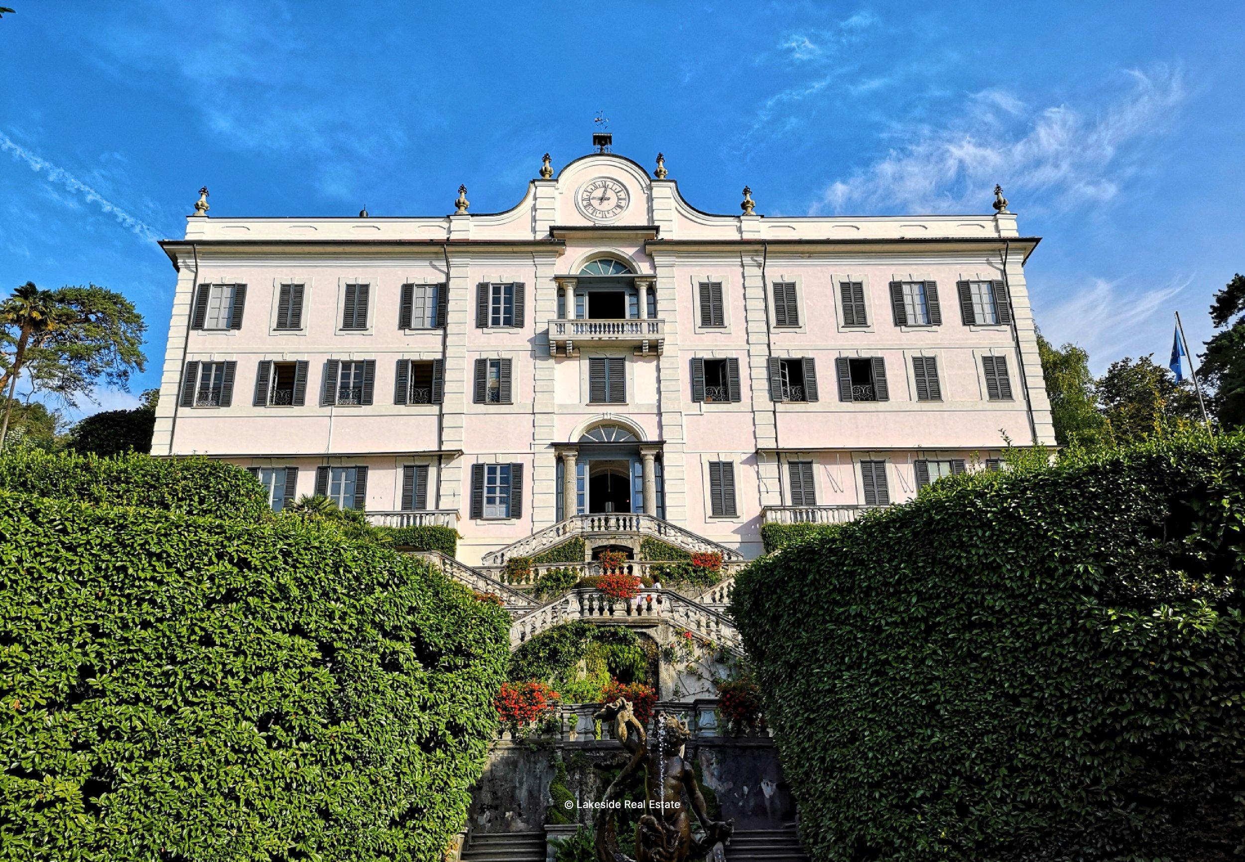 villa Carlotta lake como greenway