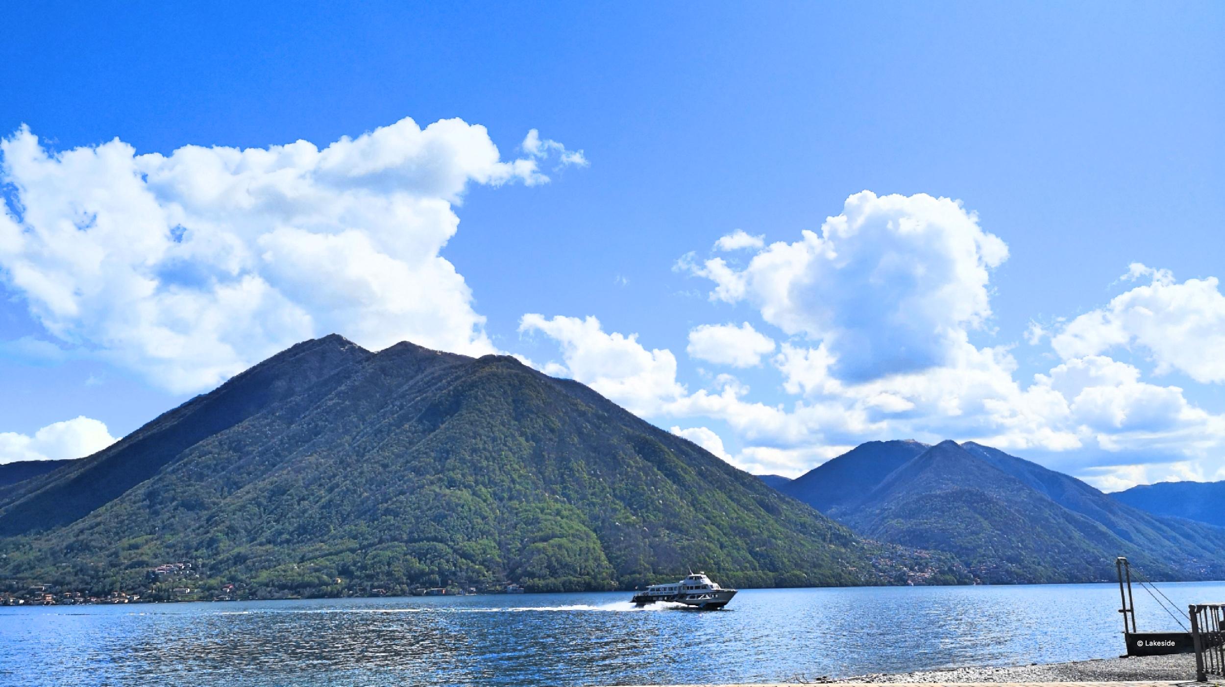 ferry Lake como argegno