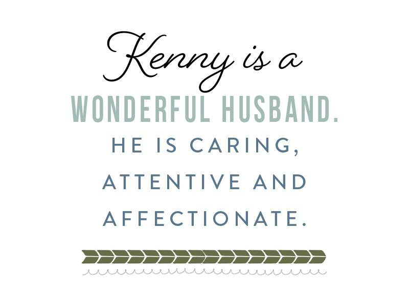 Loving husband and hopeful adoptive dad Ken