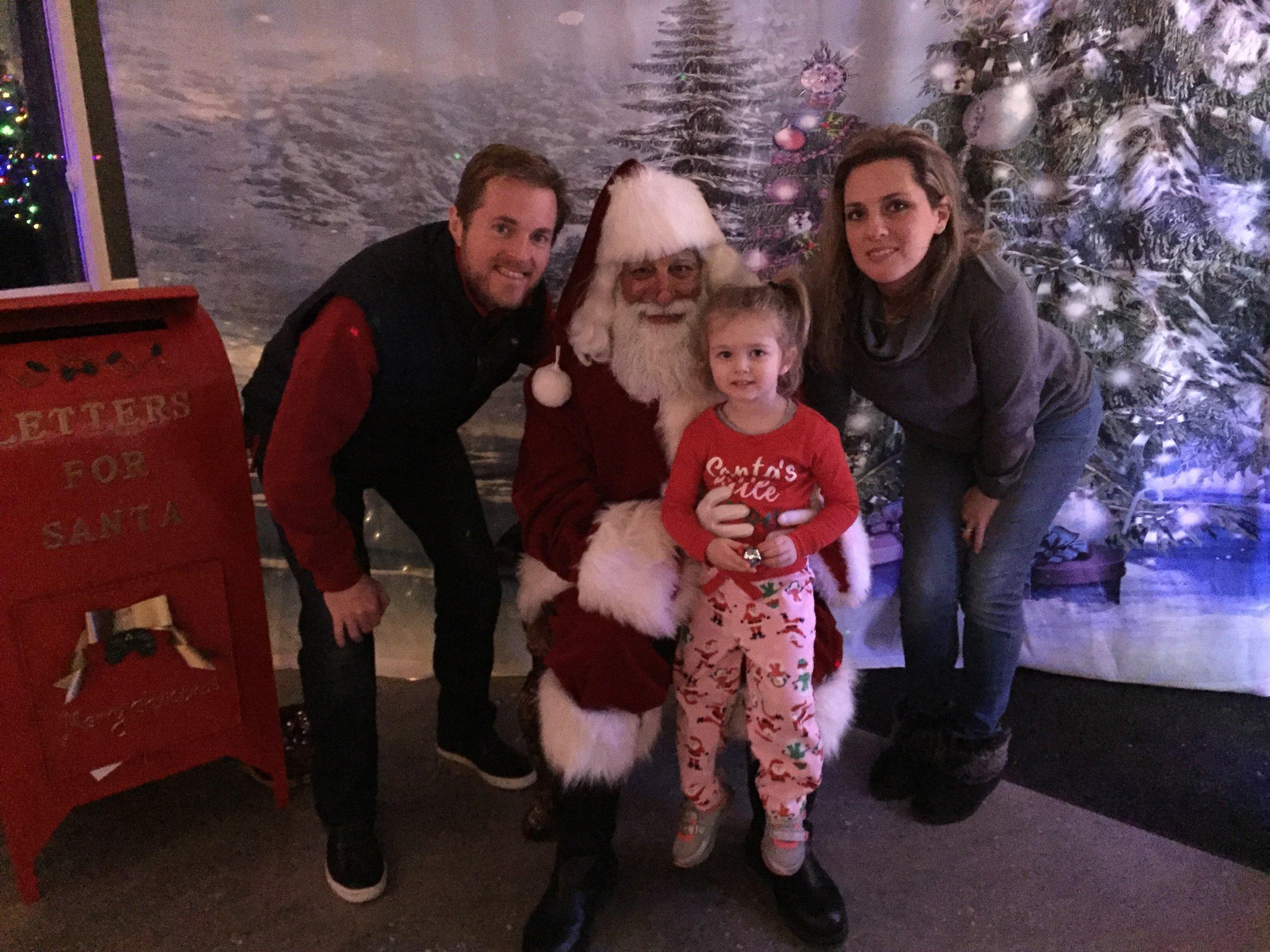 Meeting Santa on the Polar Express