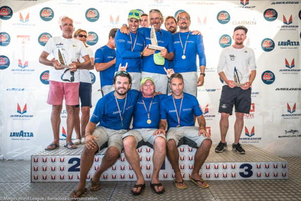 Francesco Graziani - VITAMINA (ITA-194) - 2017 Melges 32 Corinthian World Champion