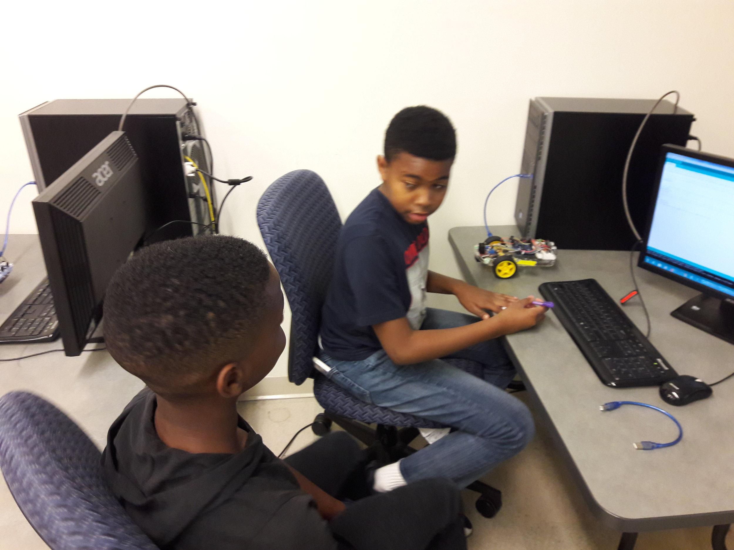 Boys programming