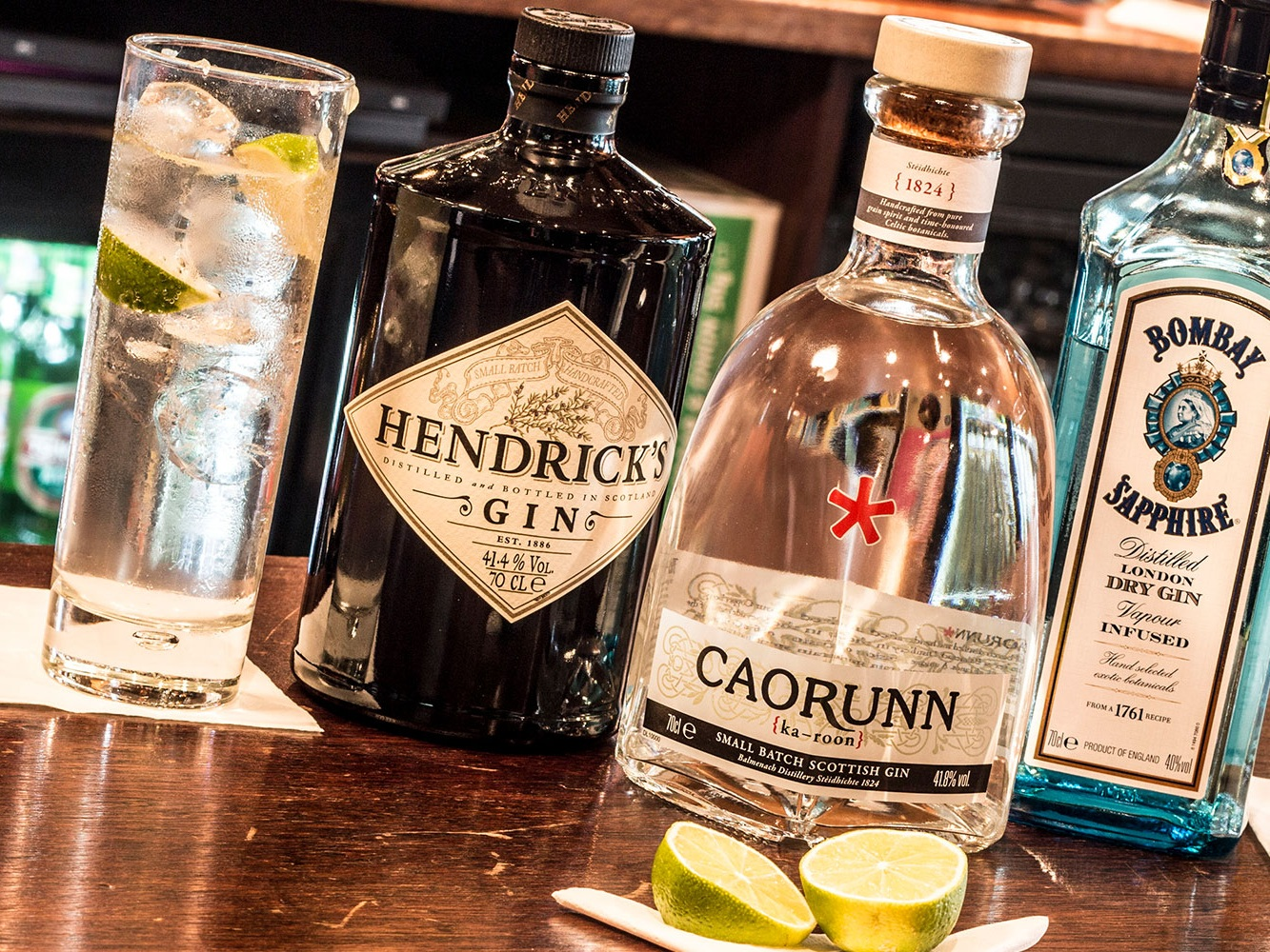 Drink @ The Vic - As well as the local favourites and pub staples, we also have a large craft gin range including local tonics, local craft on draught plus an extensive bottle range, 30 malt whiskies and 4 real ale pumps. We've got something for all tastes!