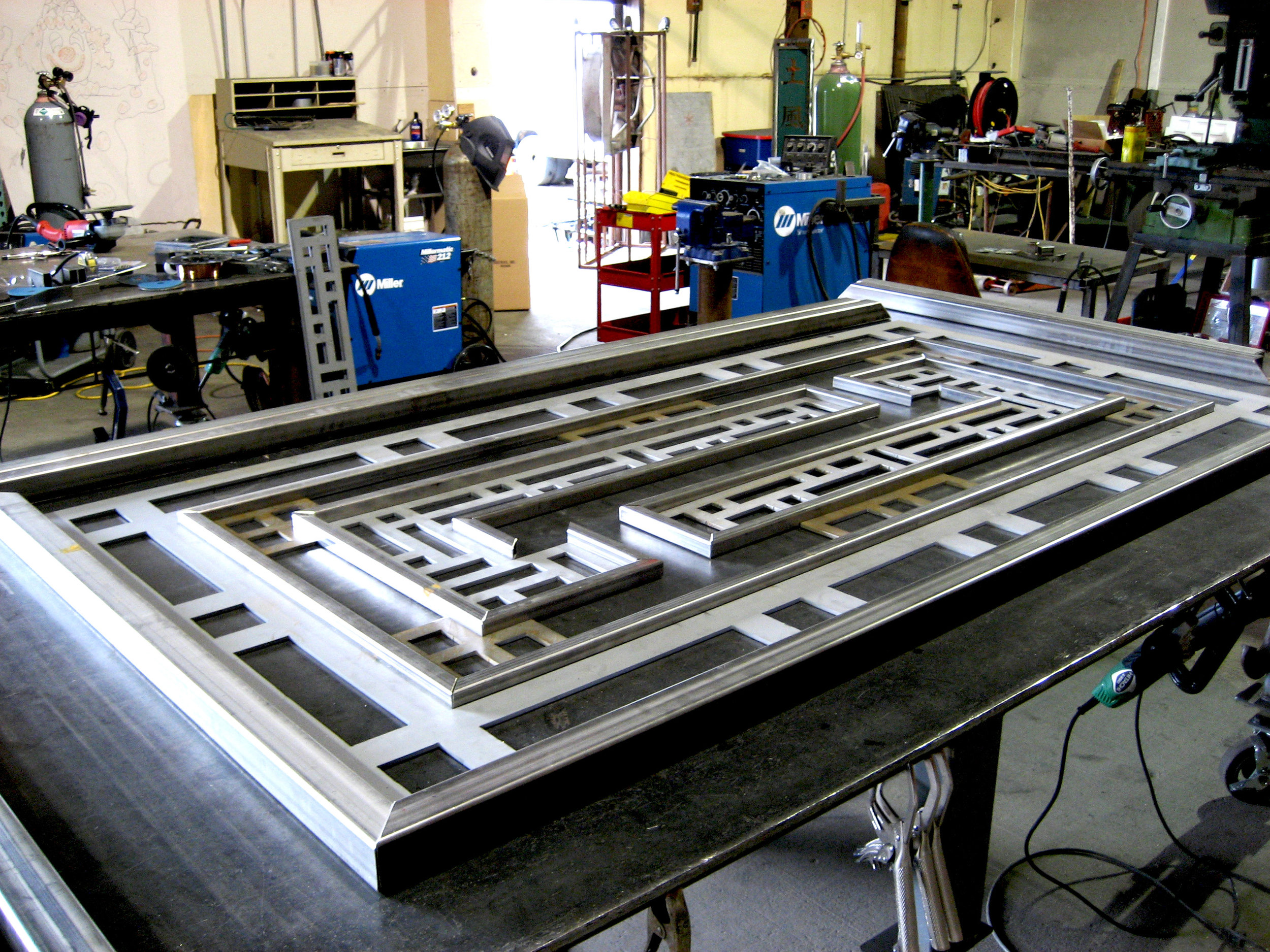 Copy of Watershed Single Door Gate in Process.