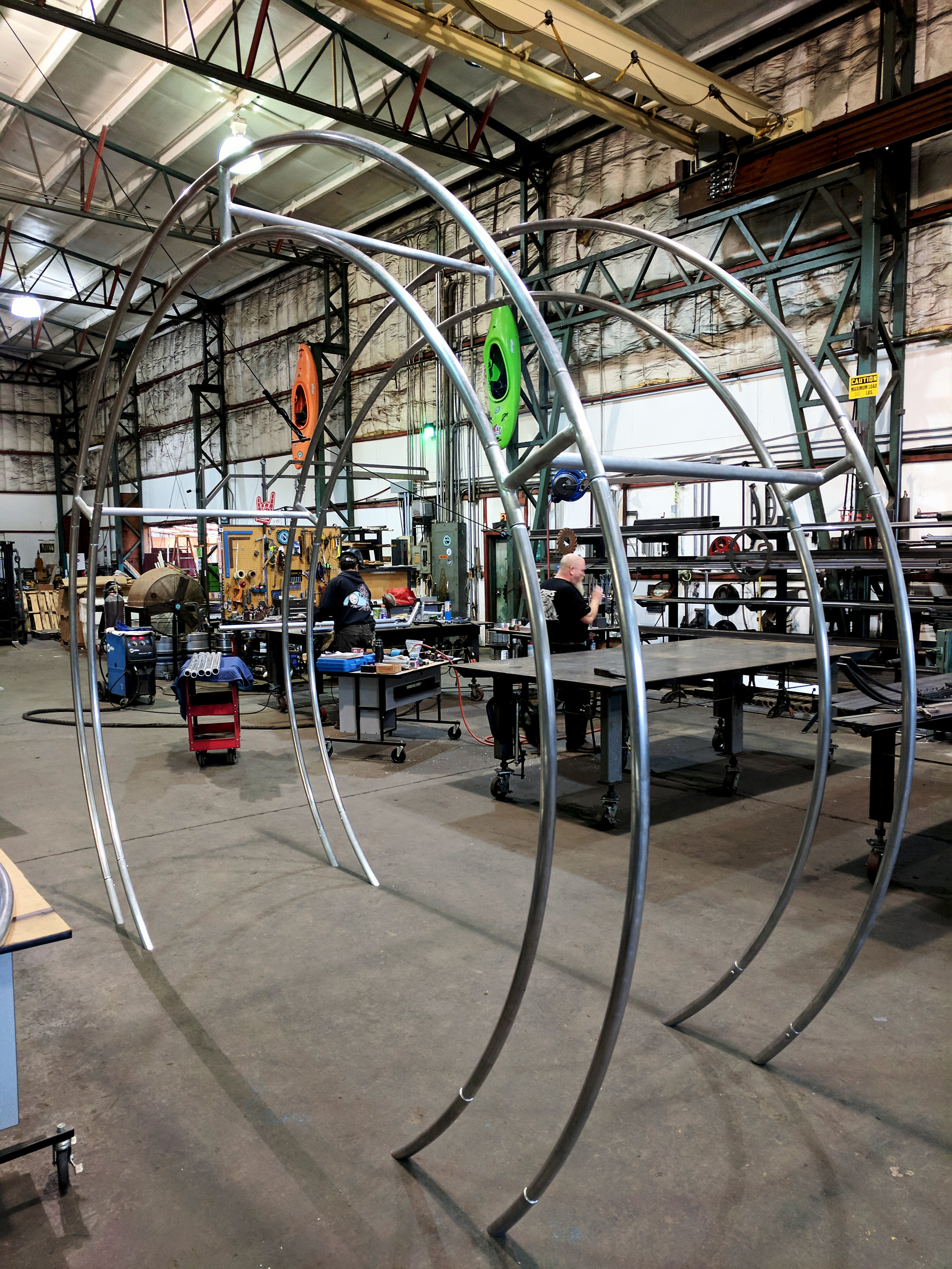 Rolled Aluminum Archway