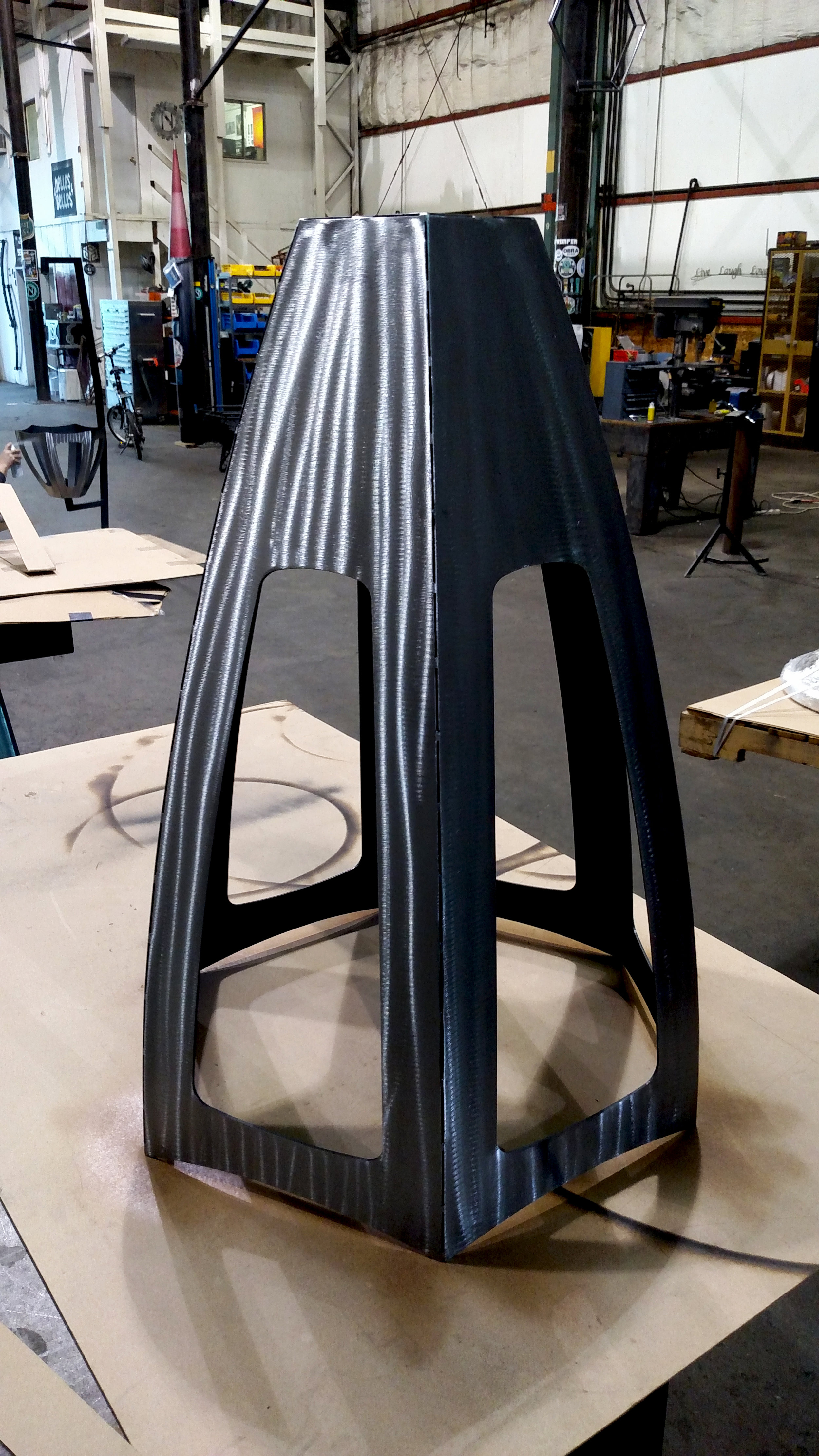 Fabrication of Ninkasi Brewing Sculpture
