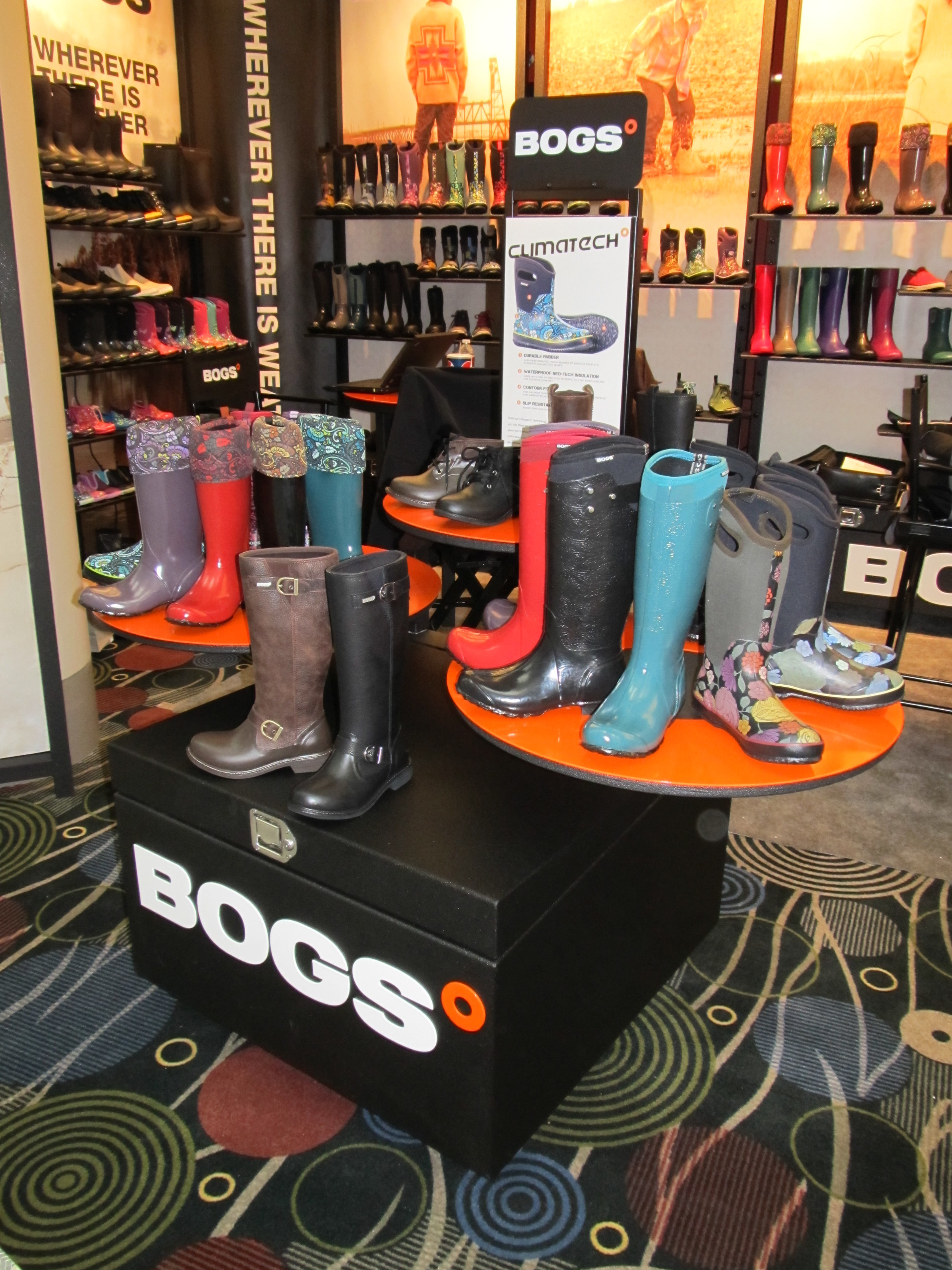 Bogs Trade Show Booth