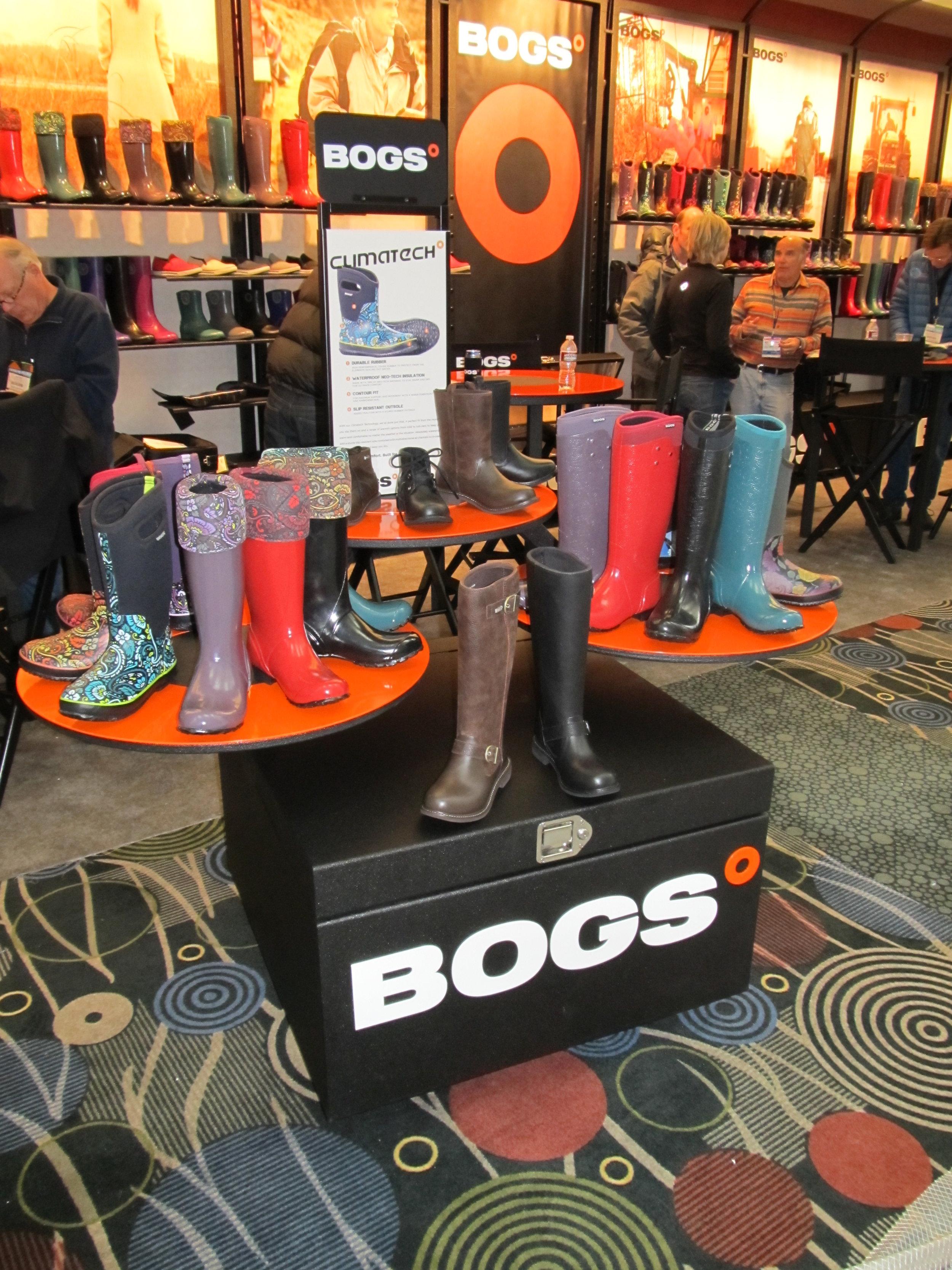 Bogs-trade-show-custom-design-metal-work