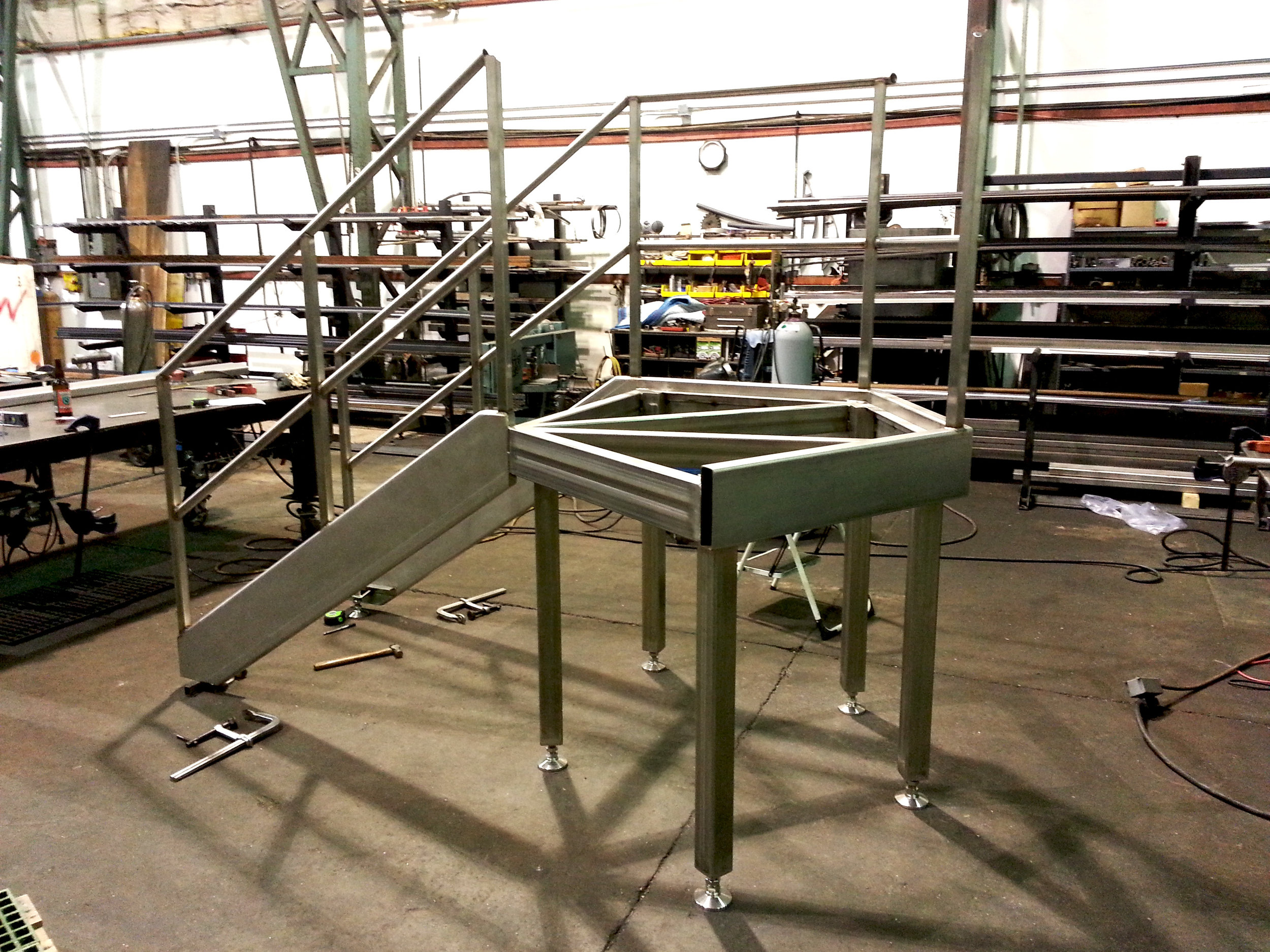 Stainless Steel Brew Deck for Ninkasi Brewing