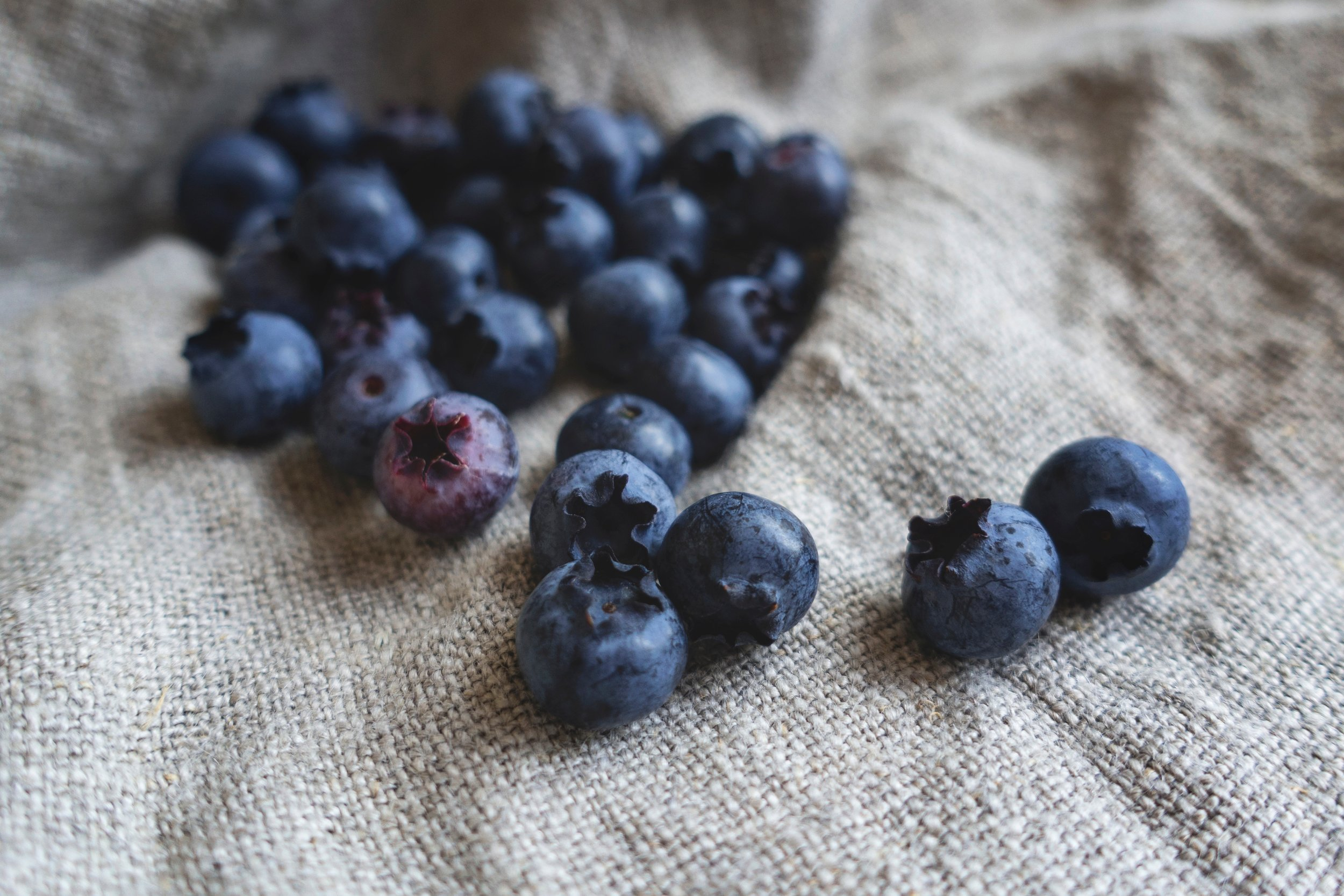Blueberries are powerful antioxidants, which slow the aging process.