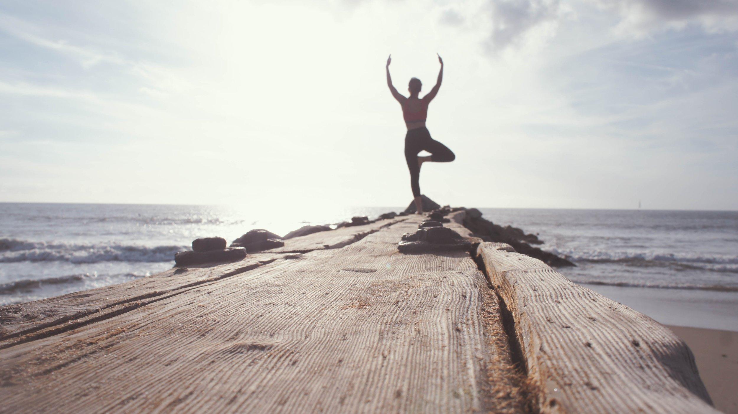 Yoga reduces stress.