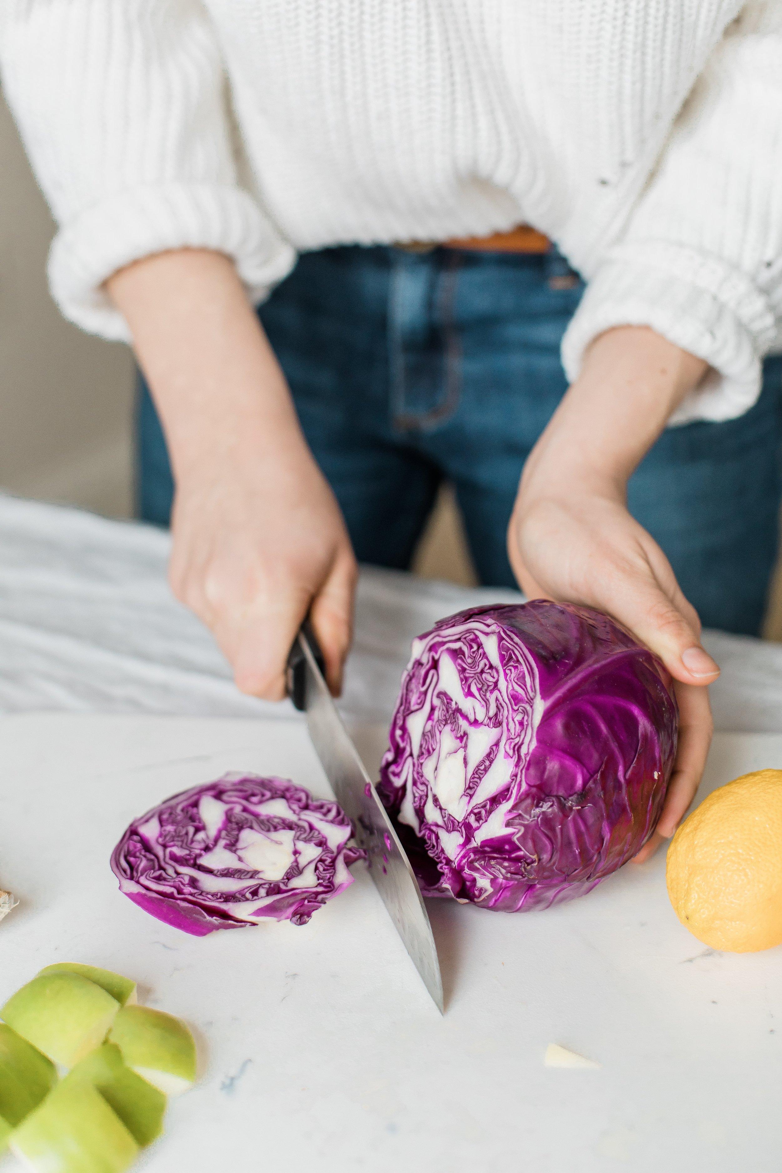 Cruciferous veggies like cabbage help the body to detoxify.