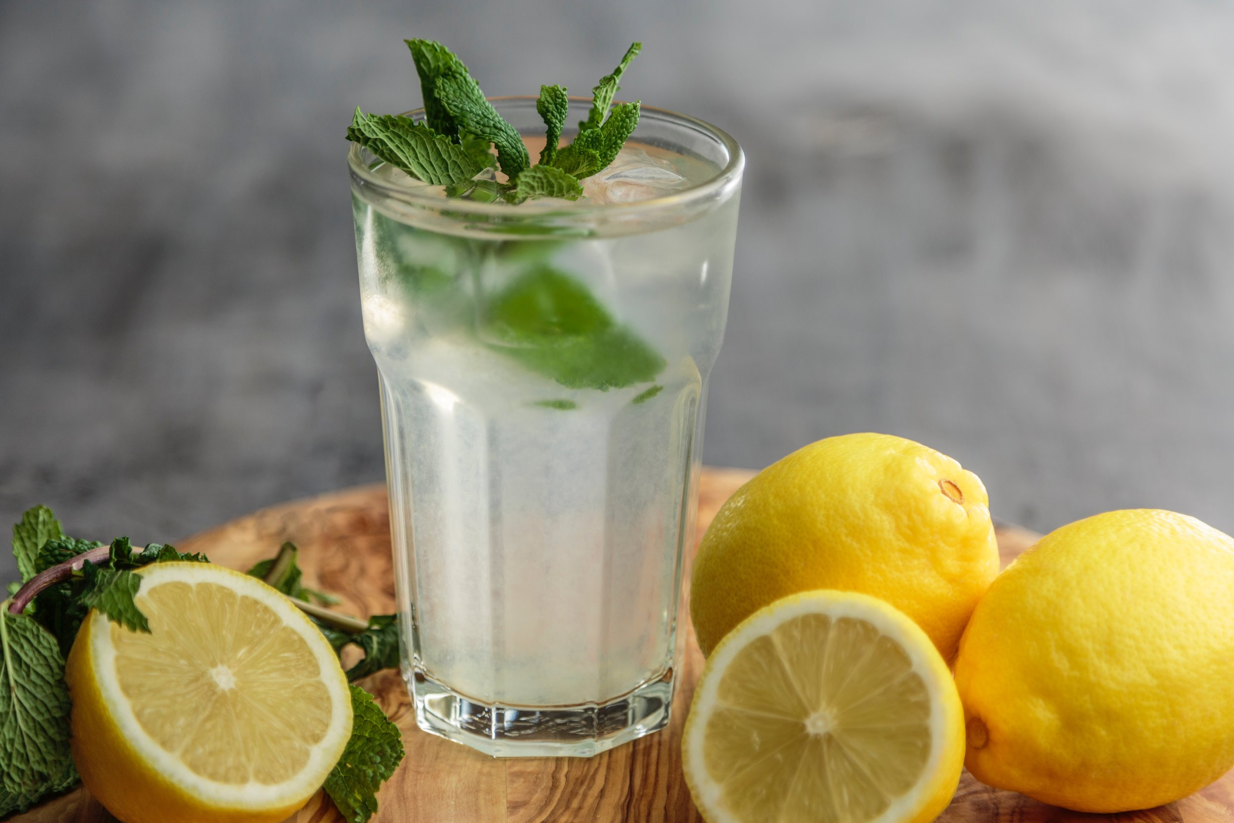 Lemon water is cleansing, alkalinizing and detoxifying.