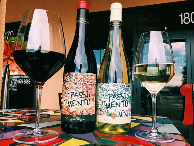 Tag your #wcw (Wine Crush Wednesday) to tell them about #WineDownWednesday where we waive corkage fees for up to 3 bottles! 🍾🍷 #pastashoplv #destinationhenderson #popbottles