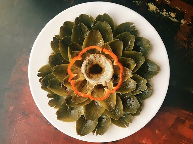Keep it fresh with our cold-poached artichoke! #pastashoplv #destinationhenderson