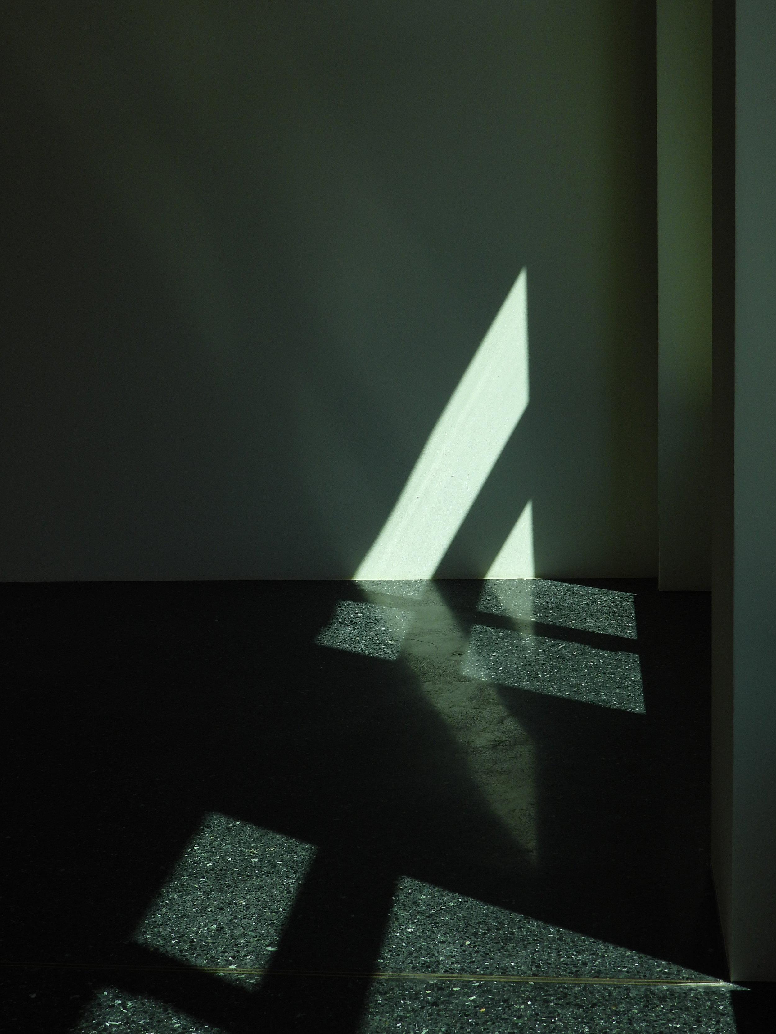 »Luminous triangle« Fotografie, unbearbeitet