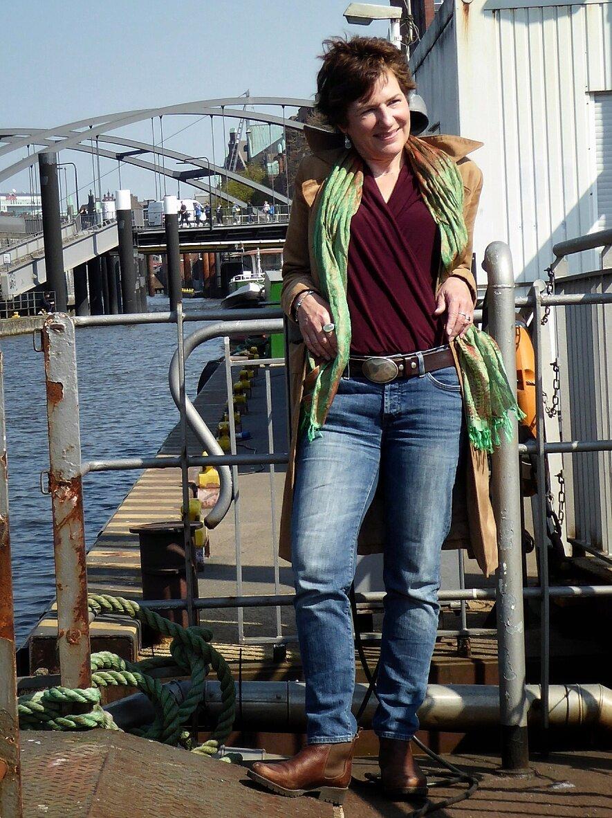 Hamburg ist Schauplatz der spannenden Krimi-Triologie der Autorin Carola Christiansen